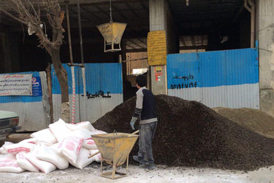 پوکه ریزی شرکت فوم بتن ایرانیان