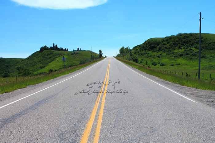 زیرسازی جاده ها