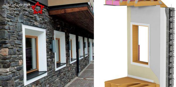 نصب تاسیسات و درب و پنجره در خانههای ساخته شده از فوم بتن